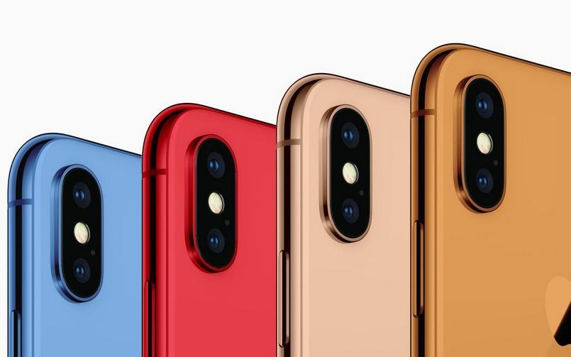 iPhone 2018 models colours 9to5Mac 805px