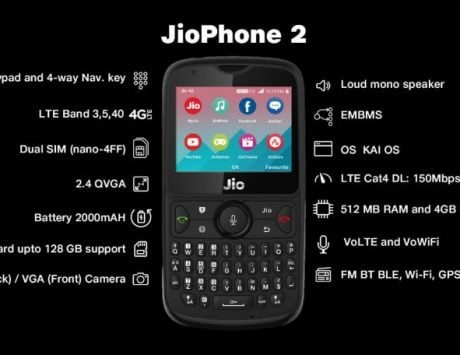 Reliance JioPhone 2 pre-orders to start on August 15