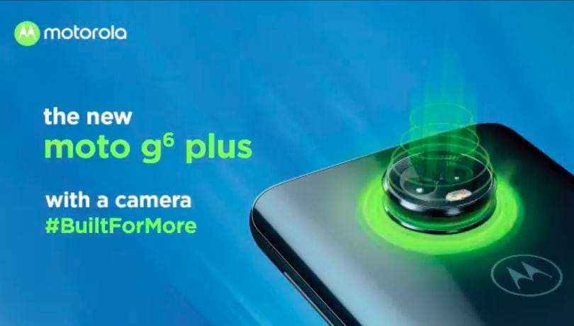 moto g6 plus india launch teaser