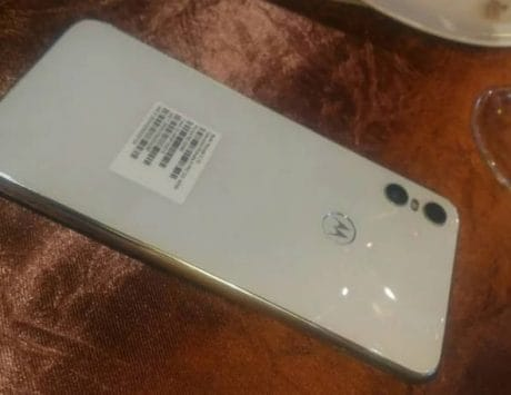 Motorola One appears in white color ahead of launch on August 2