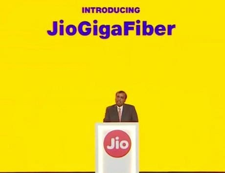 Reliance JioGigaFiber to launch in 1,600 cities