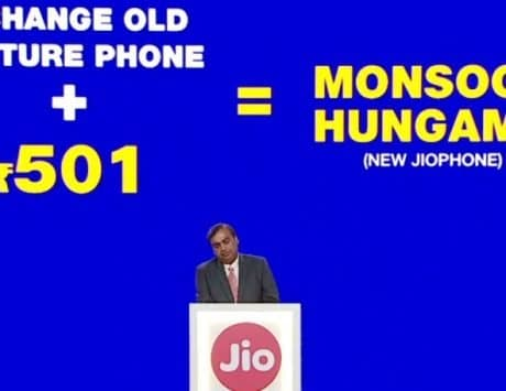 Reliance Jio is not trying to import its JioPhone devices from outside