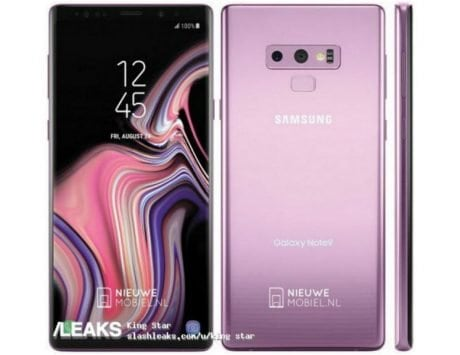 Samsung Galaxy Note 9 press renders, live photos leaked ahead of August 9 launch