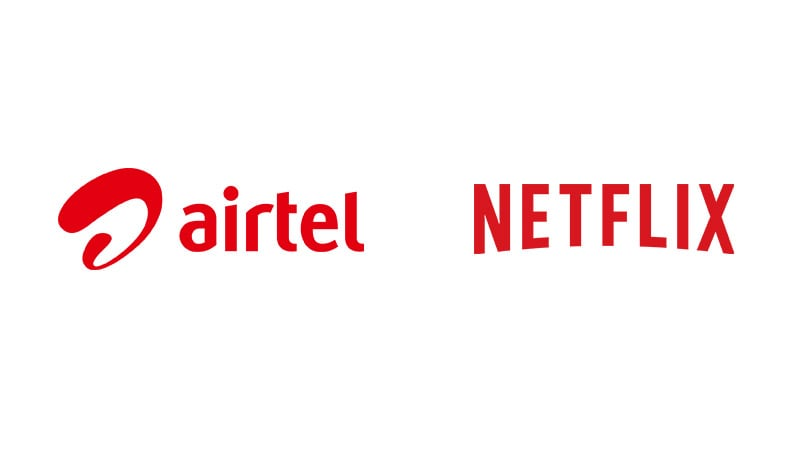 Airtel Postpaid and Home Broadband Plans to come with a three month access of Netflix
