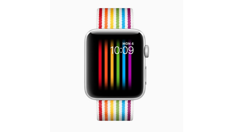 Apple Watch pride face