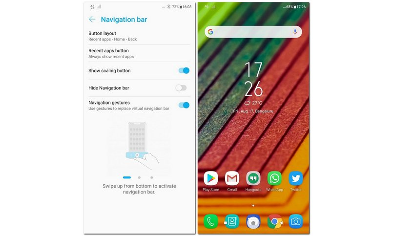Asus is rolling out a new update for the Zenfone 5Z that brings Android 9 Pie-like gesture navigation