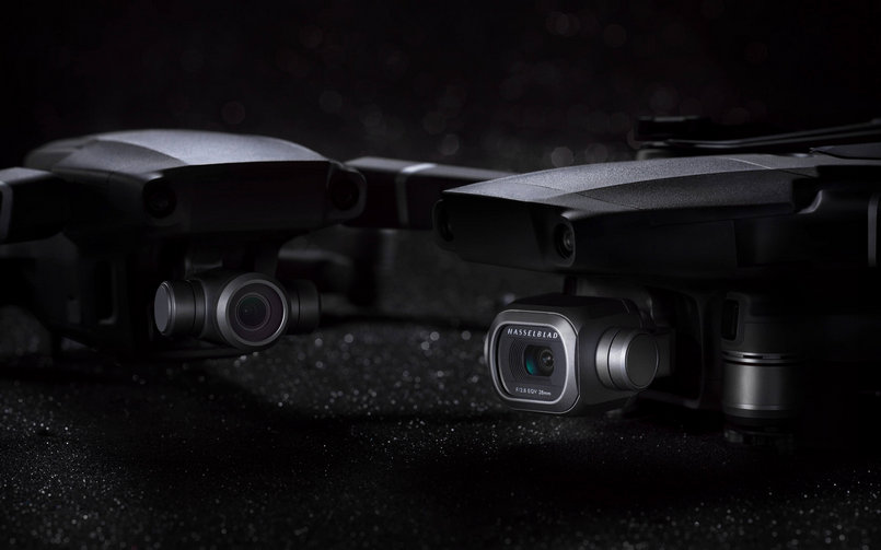 DJI launches its latest camera drones, the Mavic 2 Pro and the Mavic 2 Zoom
