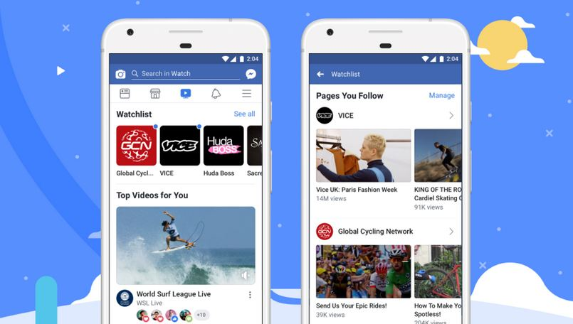 Facebook Watch global rollout