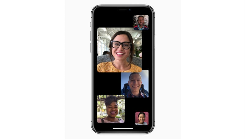 Group FaceTime Apple iOS main