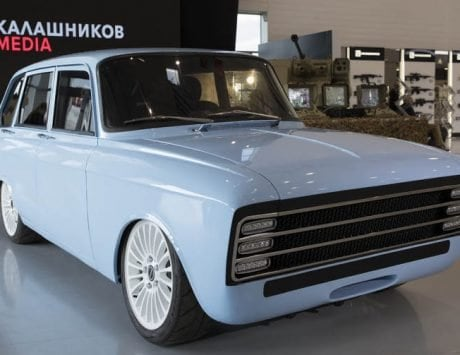 AK-47 maker Kalashnikov plans to take on Elon Musk's Tesla with a retro-looking electric supercar