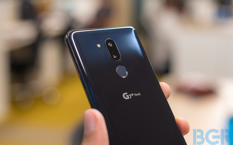 LG G7 ThinQ Android Pie update to rollout in Q1 2019