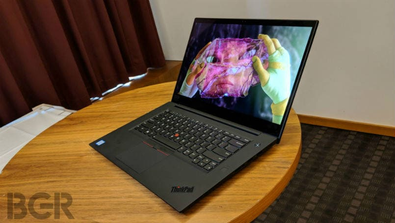 Lenovo ThinkPad X1 Extreme First Impressions: Performance and