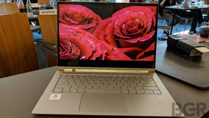 Lenovo Yoga C930 First Impressions: A thoughtful redesign with rotating speaker