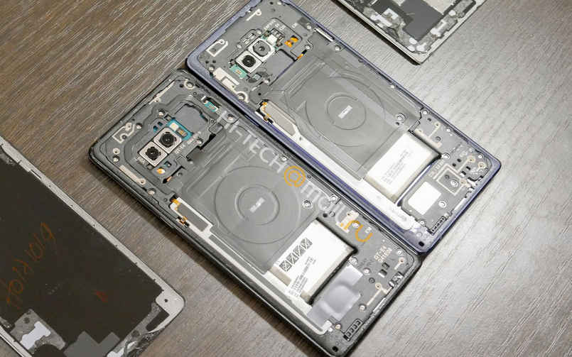 Samsung Galaxy Note 9 teardown unsurprisingly reveals significant changes under the hood