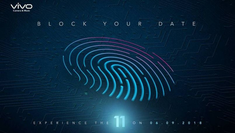 Vivo V11 India launch: Company plans September 6 event