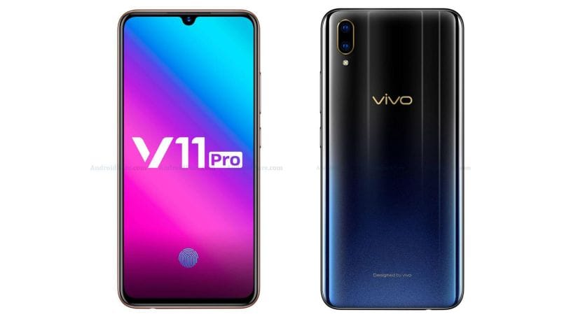 Vivo V11 Pro full specifications, images leaked ahead of September 6 India launch