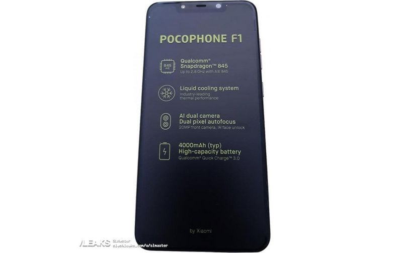Xiaomi Pocophone F1 spotted on Geekbench ahead of August 22 launch; Snapdragon 845 SoC, 6GB RAM confirmed