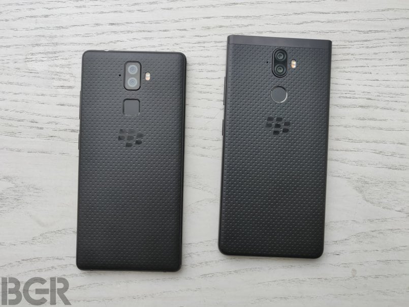 BlackBerry Evolve and BlackBerry Evolve X First Impressions
