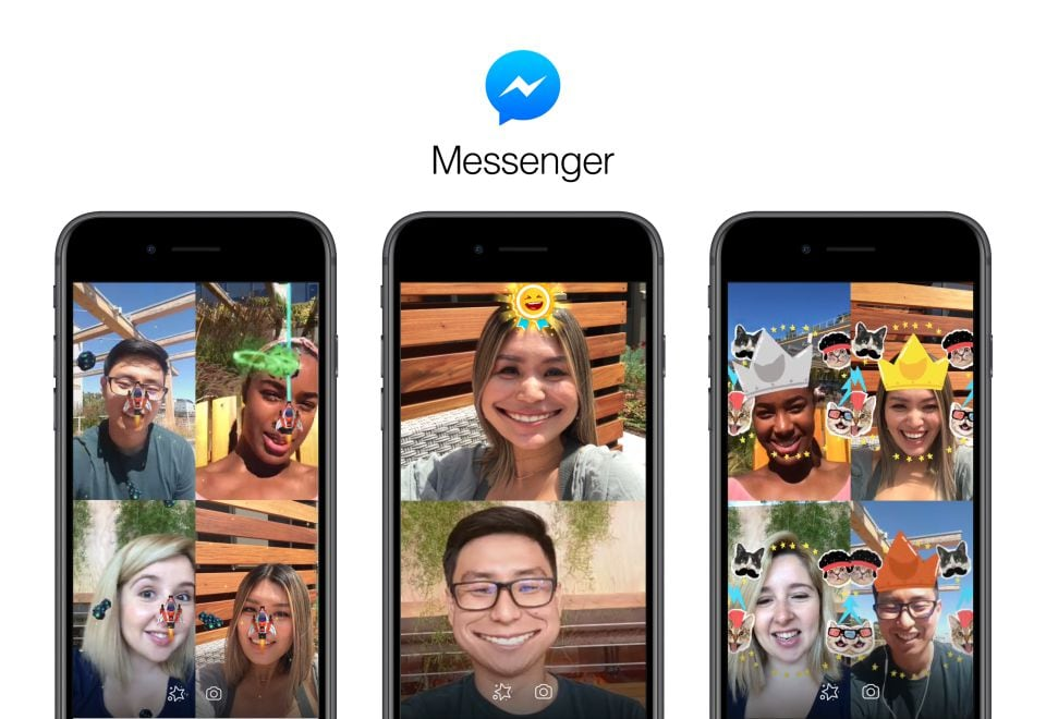 Facebook introduces AR games to Messenger group video chat
