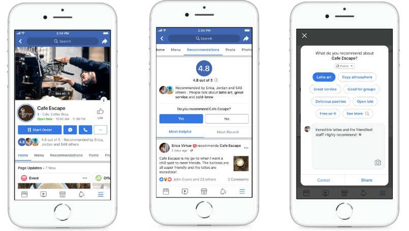 facebook pages redesign main