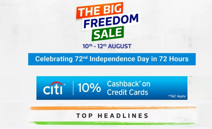 Flipkart Freedom Sale: Deals battle with Amazon with exchange offers on Xiaomi, Apple, Samsung phones and more