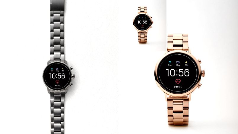 Fossil Q Venture HR, Explorist HR 4th gen smartwatches with Google Wear OS announced for India