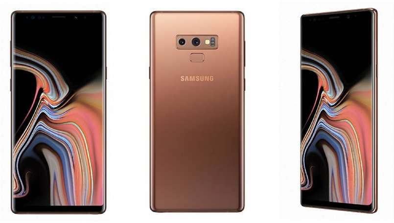 Samsung Galaxy Note 9 appears in metallic purple color hours ahead of the launch