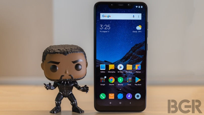 Xiaomi's Pocophone F1 is insane  cheap for what it offers