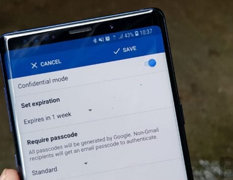 How to use Gmail Confidential Mode on Android