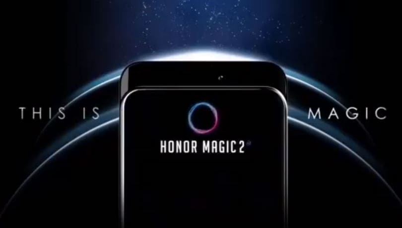 Honor Magic 2 with Oppo Find X-like sliding camera, Kirin 980 SoC announced at IFA 2018