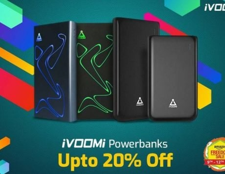 iVOOMi offers discounts on its products as part of Pre-Independence Day sale on Amazon and Flipkart
