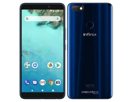Infinix Note 5 Android One smartphone launched in India