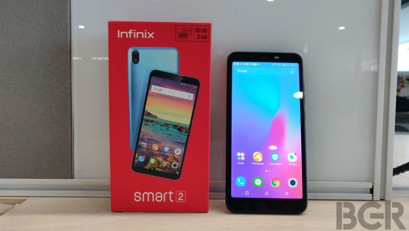 Infinix Smart 2 Android Pie update starts rolling out