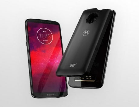 This new Motorola 5G MotoMod turns the Moto Z3 into the first 5G-enabled smartphone in the world