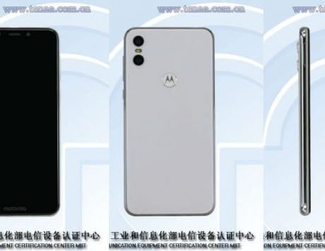 Motorola One Android One smartphone with 19:9 display, dual cameras clears TENAA certification