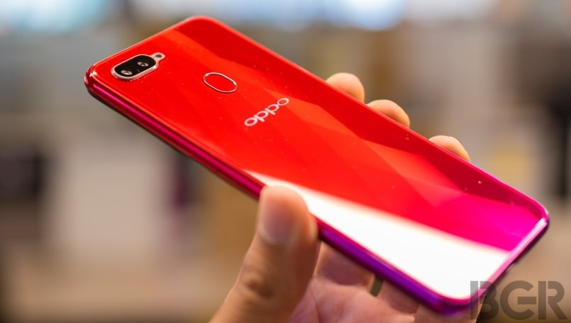 Oppo F9 with waterdrop-style notch launched exclusively on