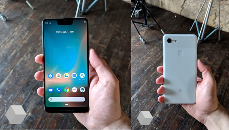 Here's the Google Pixel 3 XL, and everything it'll have in the retail box
