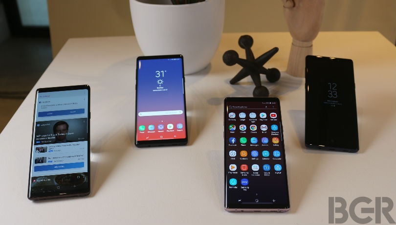 samsung galaxy note 9 comparison