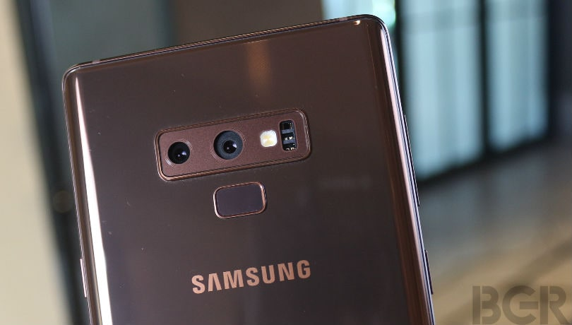 samsung galaxy note 9 dual cameras review