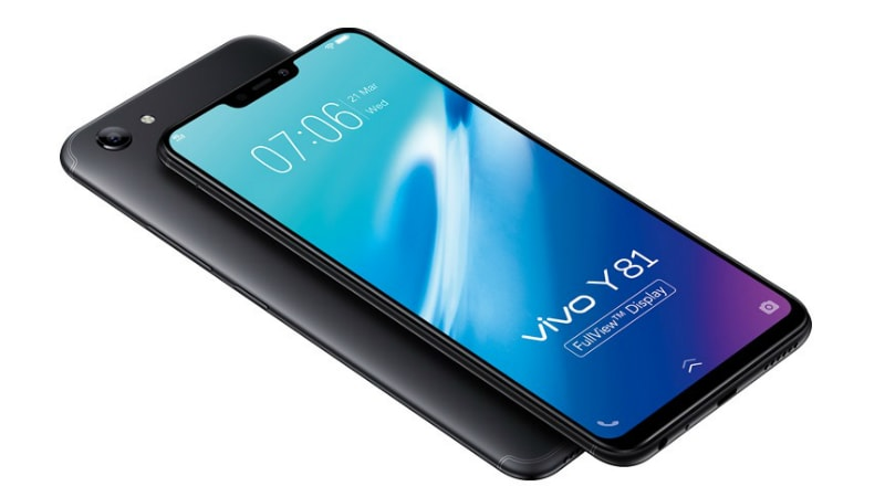Vivo Y81i with notch-display, 2GB RAM and Face Unlock may launch in India soon