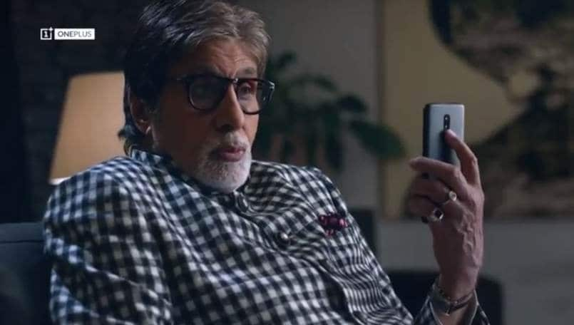 OnePlus 6T teaser page is live on Amazon India; TV commercial with Amitabh Bachchan out