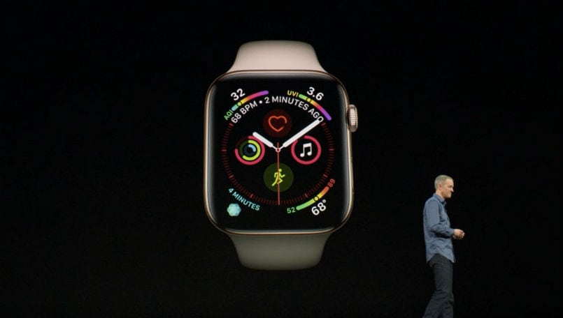 Apple Watch Series 4 lead
