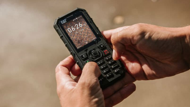 CAT B35 rugged feature phone with KaiOS launched: Price, specifications