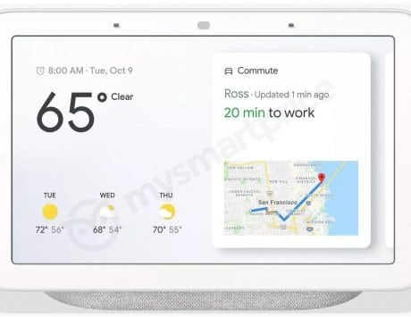 Google's smart speaker with 7-inch display to launch as 'Home Hub' on October 9 Pixel 3 event: Report