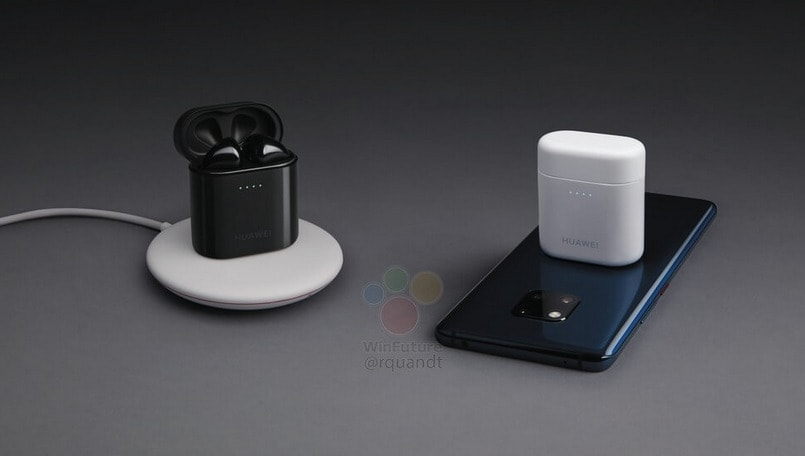 Huawei Mate 20 Pro leaks one more time alongside AirPods copycat