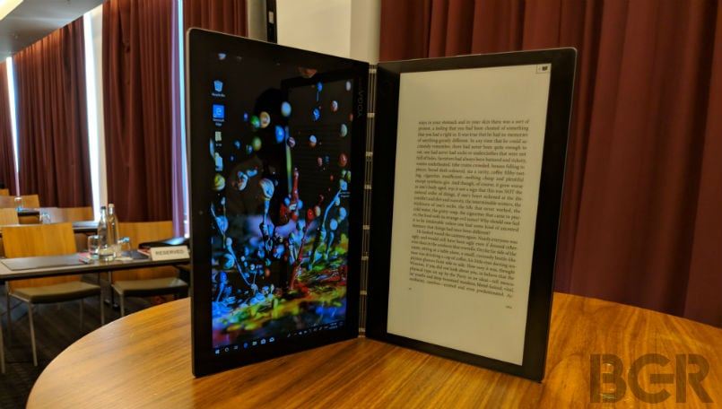 Lenovo Yoga Book C930 First Impressions: E-Ink display and Core i5 turn this into a laptop
