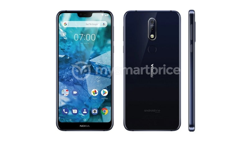 Nokia 7.1 Plus live photos leaked ahead of HMD Global's October 4 event