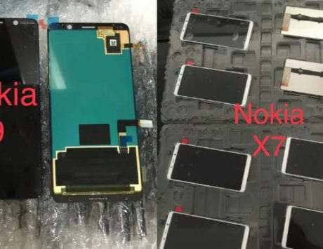 Nokia 9 and Nokia X7 leaked image shows display without notch