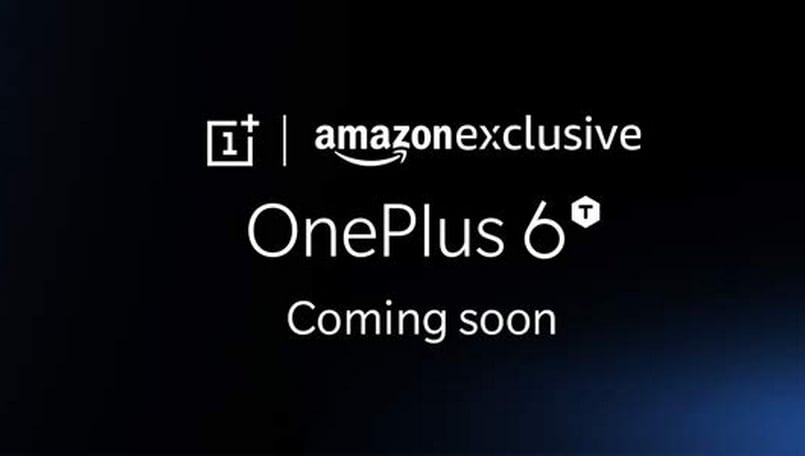 OnePlus 6T launch teaser page is live on Amazon India; TV commercial with Amitabh Bachchan out