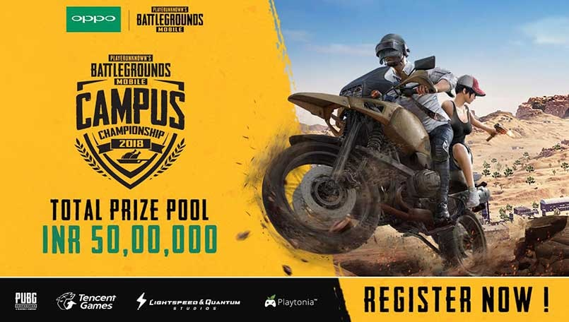 Tencent announces PUBG Mobile Campus Championship 2018 with Rs 50 lakh prize pool